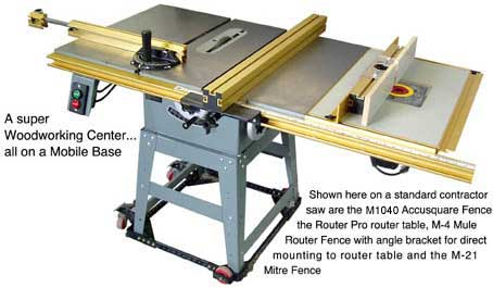 Woodworking Router Table System